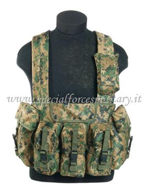 CHEST RIGG 6-POCKET DIGITAL WOODLAND SFM