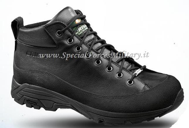 ANFIBI CRISPI A.WAY MID BLACK GTX